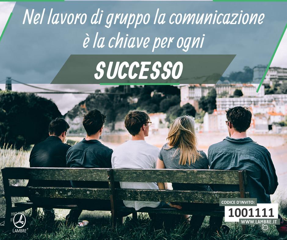 La comunicazione è la chiave per ogni successo