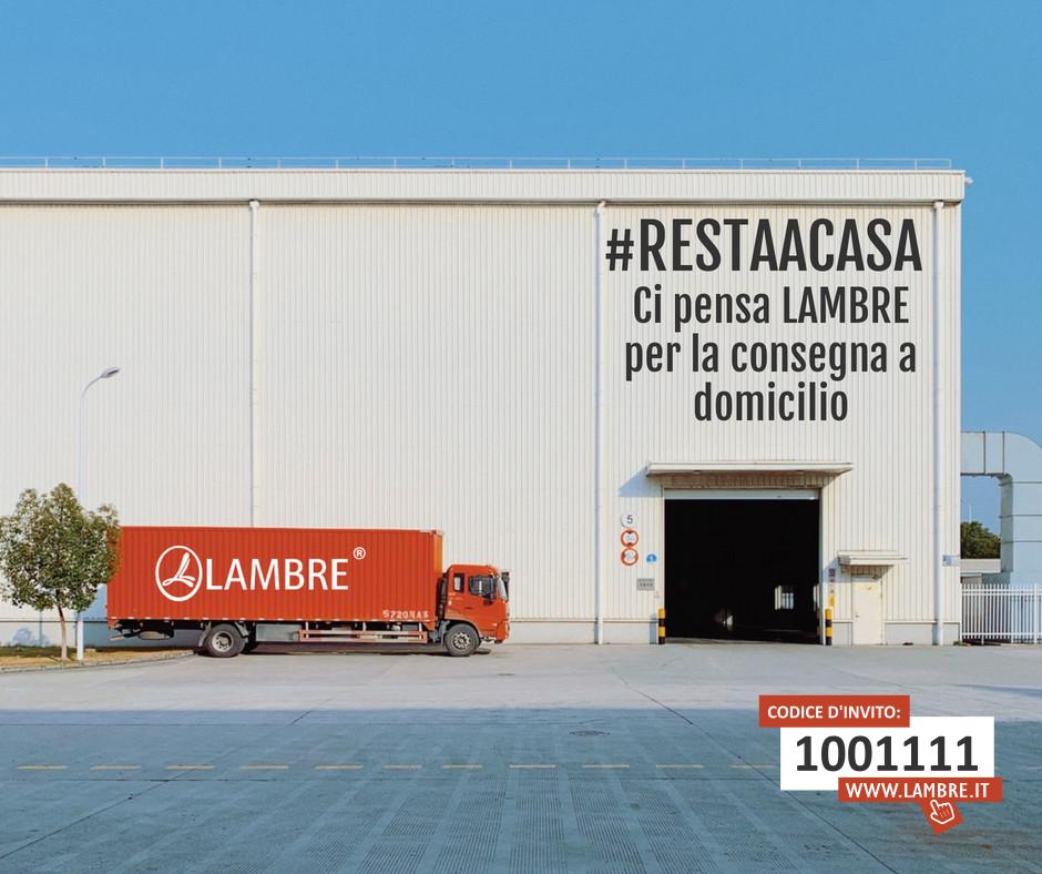 #RESTAACASA LAMBRE